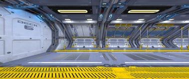 Космическая станция стоковые изображения rf
