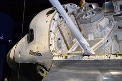 Космический летательный аппарат многоразового использования Атлантида стоковое изображение