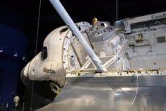 Космический летательный аппарат многоразового использования Атлантида Стоковые Фото
