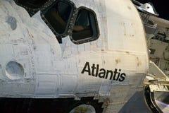 Космический летательный аппарат многоразового использования Атлантида Стоковая Фотография
