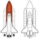 Космический летательный аппарат многоразового использования Стоковое Фото