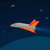 Космический летательный аппарат многоразового использования стоковая фотография rf