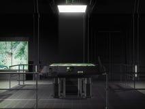 космический корабль комнаты команды футуристический Стоковая Фотография RF