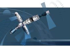 космический корабль Стоковые Фотографии RF