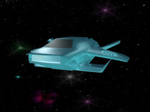 космический корабль Стоковое Изображение RF