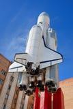 космический корабль buran Стоковое Изображение RF