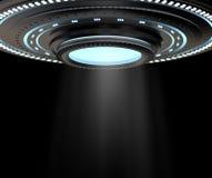 Космический корабль Ufo или чужеземца иллюстрация штока