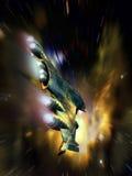 Скрытность на lightspeed Стоковое Изображение RF