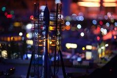 Космический корабль на старте Стоковое Фото