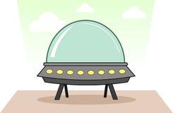Космический корабль чужеземца Стоковые Фотографии RF