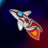 Космический корабль EPS 10 Стоковое фото RF