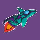 Космический корабль EPS 10 Стоковое Изображение RF