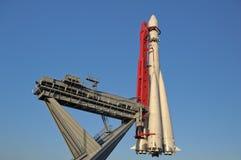Космический корабль Vostok-1 Россия Стоковое фото RF