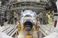 Космический летательный аппарат многоразового использования стоковые фотографии rf