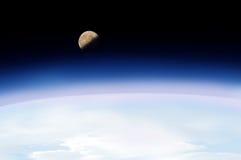 космический полет стоковая фотография