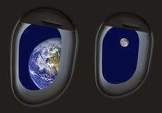 космический полет Стоковое Фото
