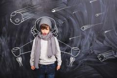 Космический полет Стоковое Изображение