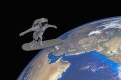 Космический туризм Стоковое Изображение