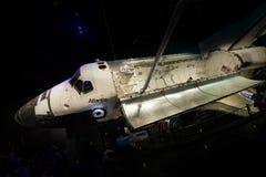 Космический центр NASA Кеннеди Атлантиды космического летательного аппарата многоразового использования Стоковые Изображения RF