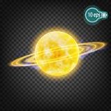 Космическое зарево, венчик В дистантном космосе Стоковое Фото