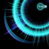 Космическое зарево Венчик небесного автомобиля звезды Стоковое Изображение