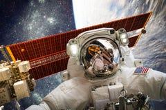 космическое пространство астронавта Стоковые Фотографии RF