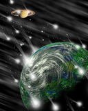 космическое пространство 4 фантазий Стоковые Фотографии RF