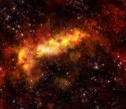 космическое пространство nebula газа облака иллюстрация штока
