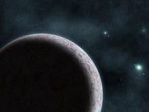 космическое starfield nebula Стоковое Фото