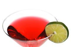 космополитическое изолированное питье Стоковая Фотография