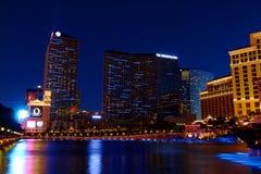 Космополитическое Las Vegas Стоковое Изображение