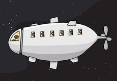 космос блимпа иллюстрация штока