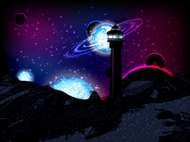 космос вода вектора свежей иллюстрации конструкции естественная ваша Красивый, фантастический и волшебный бесплатная иллюстрация