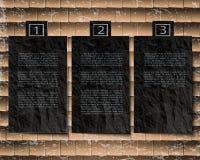 Космос вырезывания бумажный для текста на предпосылке Стоковые Изображения RF