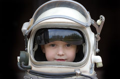 космос девушки Стоковое фото RF