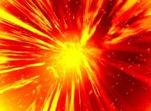 космос детонации Стоковая Фотография