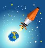 космос дня Стоковая Фотография RF
