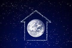 космос дома Стоковое фото RF
