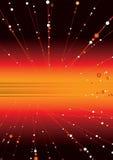 космос зарева Стоковое фото RF