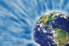 космос земли Стоковое Изображение RF