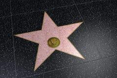 Космос имени Голливудской звезды пустой Стоковые Фото