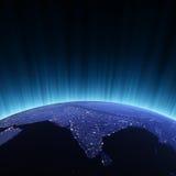 космос Индии Стоковые Фото