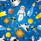 космос картины безшовный Стоковая Фотография