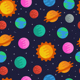 космос картины безшовный Стоковые Изображения RF