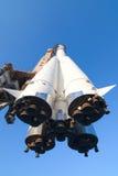 космос корабля двигателей Стоковые Фото