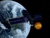 космос корабля Стоковые Фото