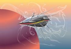 космос корабля Стоковая Фотография