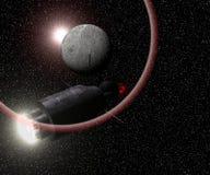 космос корабля Стоковое Фото