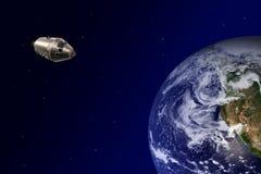 космос корабля Стоковые Изображения RF