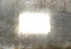 космос к стене пишет Стоковые Изображения